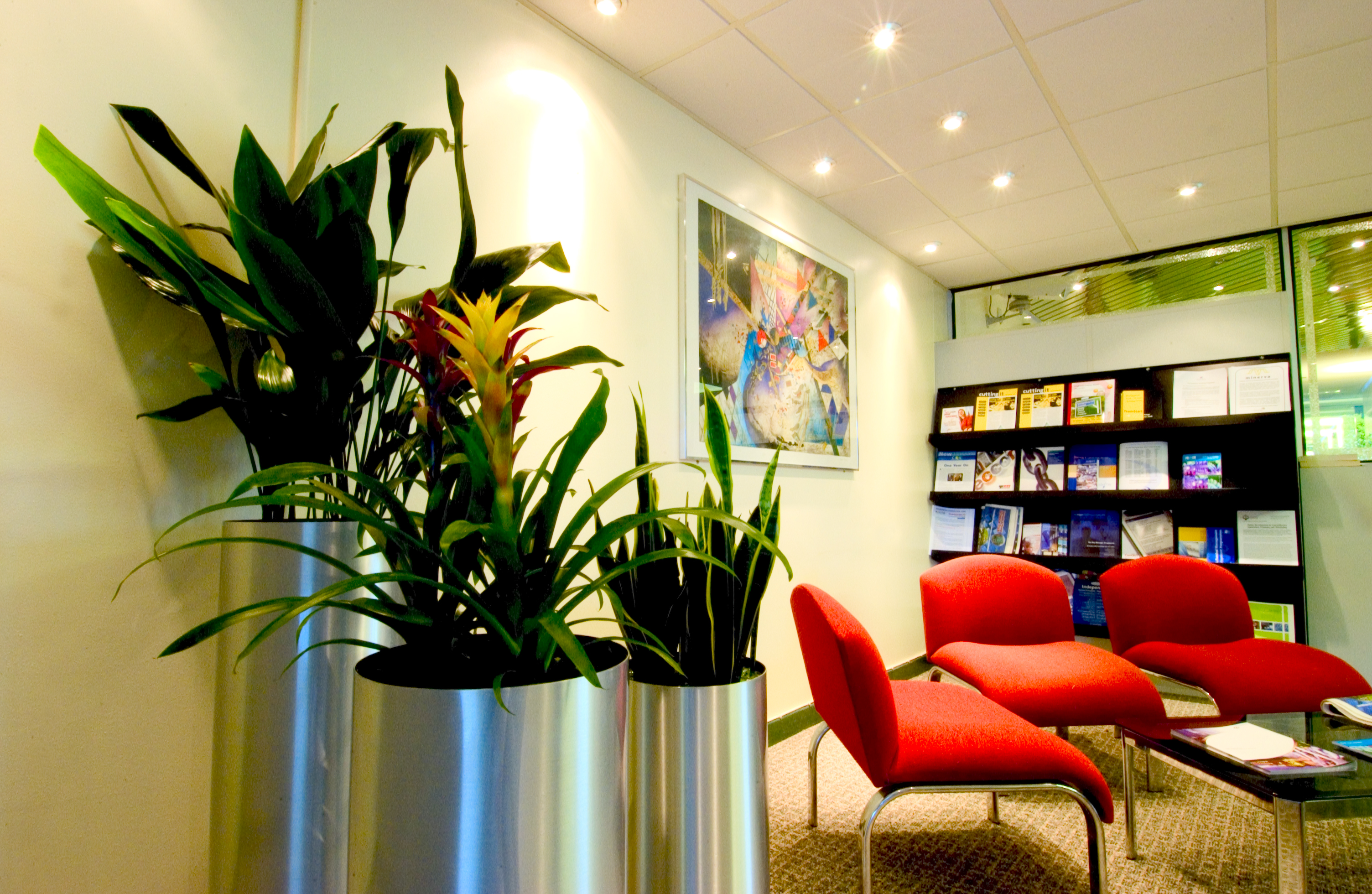 Interior landscaping office Board Room Green Scheme Has Provided Plant Displays And Interior Landscaping Solutions For Interior Landscaping Design Maintenance By Green Goddess Design Our Clients Office Plants Artificial Plants Interior Landscaping
